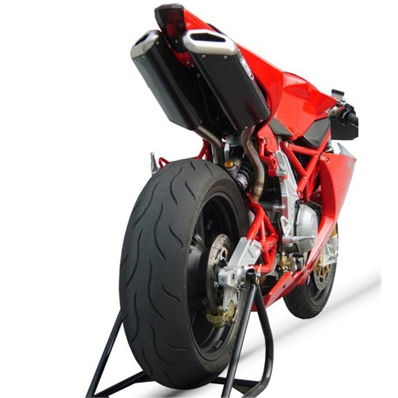 KIT COLECTOR CENTRAL RACING INOXIDABLE